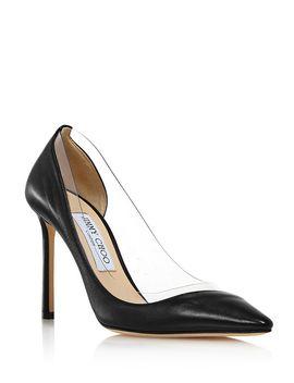 womens-romy-100-classic-high-heel-pumps by jimmy-choo