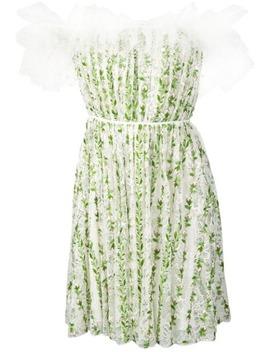 robe-courte-imprimée-à-détails-en-tulle by giambattista-valli