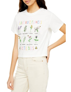 By Tee & Cake Save The Bees Tee by Topshop