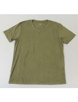 esntls-mens-short-sleeve-bamboo-blend-v-neck-shirt-hd3-olive-size-xl-nwt by esntls