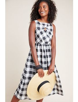 Florence Gingham Midi Dress by Hope For Flowers By Tracy Reese