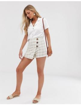vero-moda-linen-button-through-boxy-shirt by vero-moda