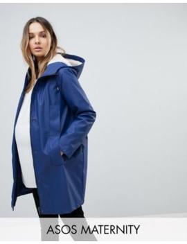 asos-maternity-borg-raincoat by asos-maternity