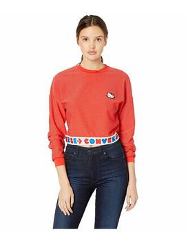 Converse X Hello Kitty Long Sleeve Sport Tee by Converse