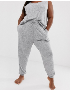 Asos Design Curve Mix &Amp; Match Lounge Super Soft Brushed Jogger by Asos Design