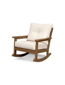 Polywood Vineyard Outdoor Deep Seating Rocking Chair by Polywood