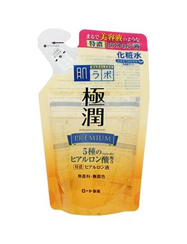 Hadalabo Japan 170m L Refill Skin Institute Gokujun Premium Hyaluronic Solution by Skin Research (Hadarabo)