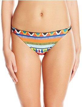 Nanette Lepore Women's Side Tie Hipster Bikini Swimsuit Bottom by Nanette Lepore