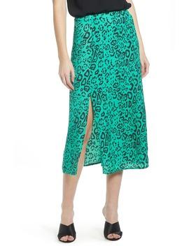 Altamont Front Slit Midi Skirt by Wayf