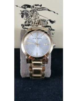 Burberry Mens Gold Stainless Steel Watch Bu9003 by Burberry
