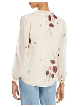 Rafaella Floral Silk Blouse by Joie