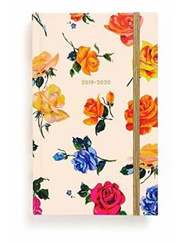 "Ban.Do 17 Month 2019 2020 Classic Daily Planner With Weekly & Monthly Views, 8.13"" X 5.13"", Dated August 2019   December 2020, Coming Up Roses by Ban.Do"