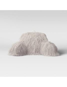Faux Fur Bed Rest Pillow   Opalhouse by Opalhouse
