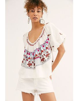 Wind In Her Hair Top by Free People