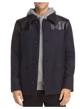Wool & Leather Donkey Jacket by A.P.C.