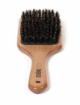 Schöne Body Beech Wood, Wild Boar Bristle Hair Brush (Paddle Hair Brush) by Schöne Body