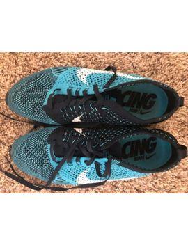 Nike Flyknit Racer   Men's Size 7/ Women's 8.5   Chlorine Blue by Nike