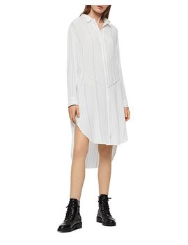 Hana Striped Shirt Dress by Allsaints