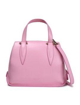 Benedetta Leather Shoulder Bag by Delpozo