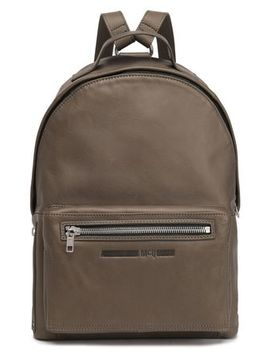 Leather Backpack by Mc Q Alexander Mc Queen