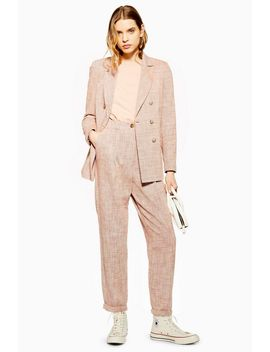 Marl Peg Trousers by Topshop