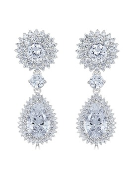 Regal Halo Earrings by Thomas Laine
