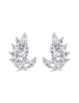 Rita Marquise Cluster Earrings by Thomas Laine