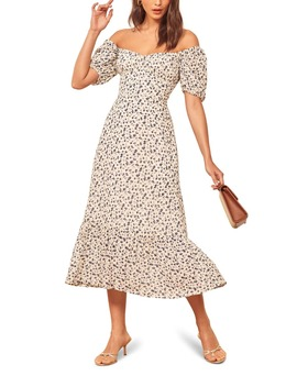 Hannah Midi Dress by Reformation