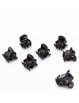 12 Pcs Black Plastic Mini Hairpin 6 Claws Hair Clip Clamp For Ladies Hot Sale by Unbranded