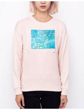 Vans X Van Gogh Almond Blossom Crew Neck Sweatshirt Size Xl $94.50 by Vans