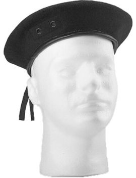 Gi Style Black Wool Beret Army Military Beret By Rothco 4907 Size 63/4 To 73/4 by Rothco