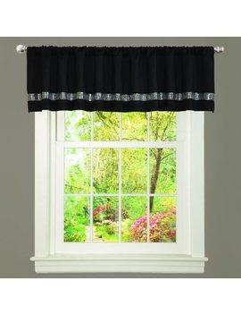 Lush Decor Night Sky Curtain Valance (Single Panel), Black And Gray by Lush Decor