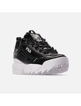 Women's Fila Disruptor 2 Premium Patent Casual Shoes by Fila