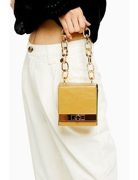 Glint Yellow Boxy Grab Bag by Topshop