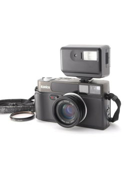 【Excellent++++<Wbr>+】Konica Hexar Af Black 35mm Film Camera W/ Hx 14 From Japan by Konica