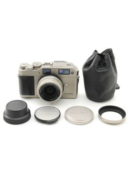 【N Mint】 Contax G1 35mm Rangefinder Film Camera + 28mm F/2.8 From Japan by Contax