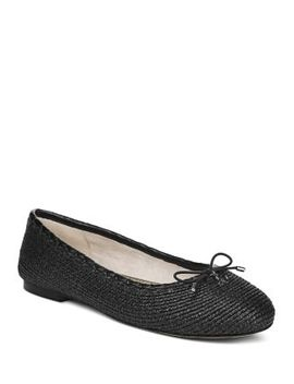 Women's Falcon Woven Ballet Flats by Sam Edelman