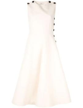 Button Detail Dress by Goen.J