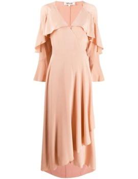 Ruffled Midi Dress by Dvf Diane Von Furstenberg