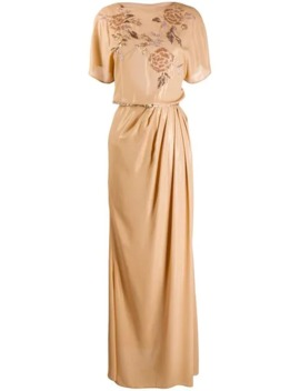 Empire Line Maxi Dress by Elisabetta Franchi