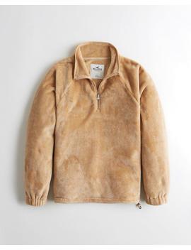 Cozy Half Zip Sweatshirt by Hollister