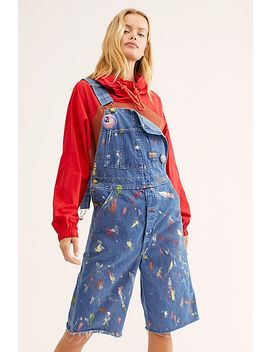 Riley Vintage Artiste Shortalls by Riley Vintage