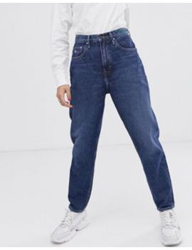 Tommy Jeans – Mom Jeans Med Hög Midja I Hållbart Material by Tommy Jeans Capsule