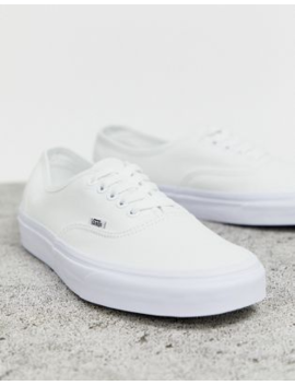 Zapatillas De Deporte En Blanco Triple Authentic De Vans Classic by Vans
