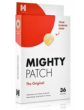 Mighty Patch Original   Hydrocolloid Acne Pimple Patch Spot Treatment (36 Count) For Face, Vegan, Cruelty Free, 50% Better Absorption by Mighty Patch