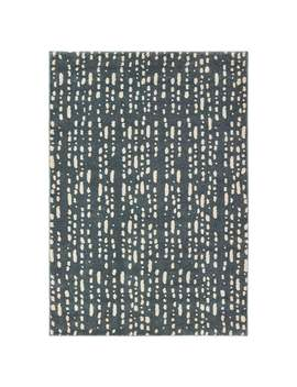 Carbon Loft Dulaney Dappled Light Blue And Ivory Area Rug by Carbon Loft