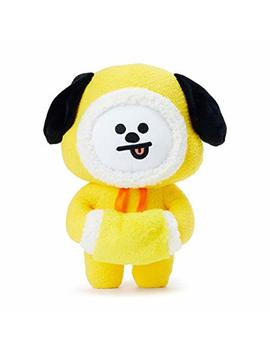 Line Friends Bt21 Official Merchandise Chimmy Character Winter Standing Plush Toy Doll 10 Inches by Line Friends
