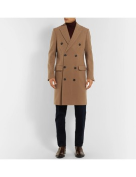 Ives Double Breasted Wool Blend Overcoat by Salle PrivÉe