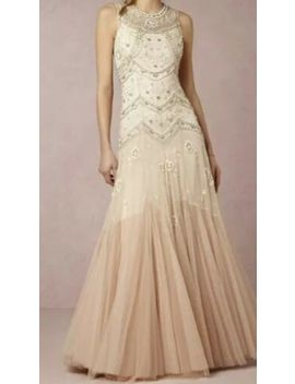 Bhldn Needle & Thread Cate Ombre Dress Gown Size Us 4. $800 New by Needle & Thread