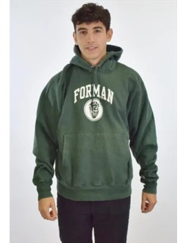 90s Green Champion Forman Sweatshirt Hoodie by Champion